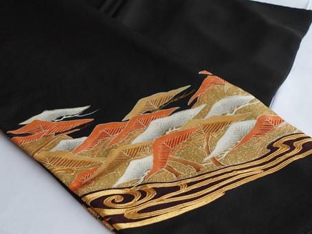 刺繍が多い黒留袖にも対応いたします