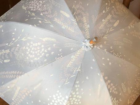 モニターさまご依頼の着物リメイクorder-日傘完成①