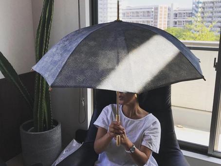 リメイク日傘のサンプルも完成!