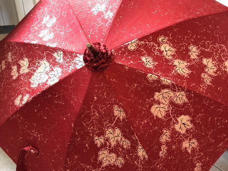 着物リメイク日傘:イベント用のサンプルです!
