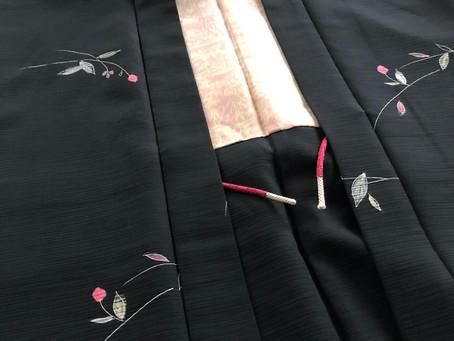 お母さまの羽織から娘さんへプレゼント