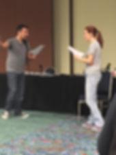Alex Teaching an Advanced Audition Class at A-Kon 2017
