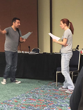 Alex Teaching an Advanced Audition Class at A-Kon 2017