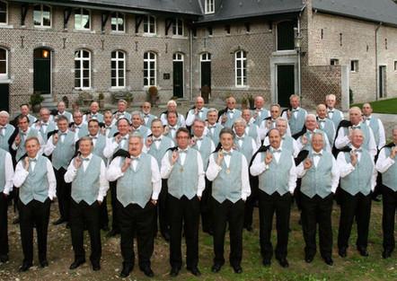 Niederländischer Chor zu Gast im Gottesdienst Anschließendes Kurz-Konzert in der Schlosskirche