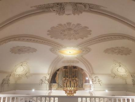 Pfingsten in der Schlosskirche