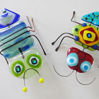 Glass Bugs for Kids
