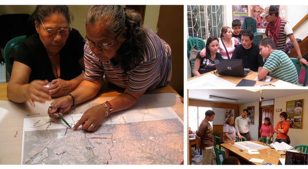 Cognitive Mapping in Comunas 1 and 2, Medellin, Colombia