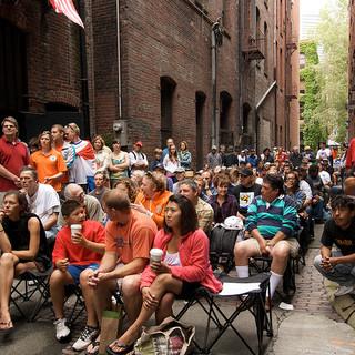 Art Festival in Alley