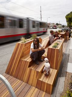 Public Seating Intervention, by Hassell