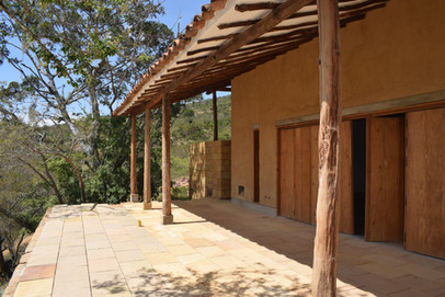 Rammed Earth Construction in Barichara, Colombia