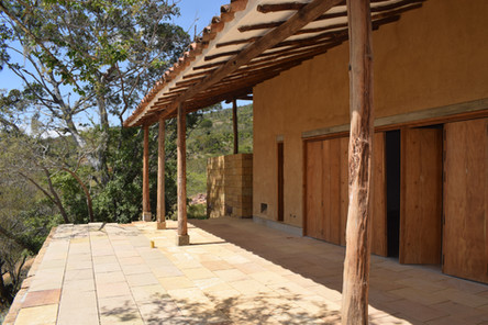 Casa Vero, Earth Construction; Barichara, Colombia