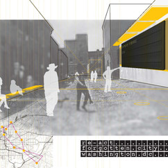 Concetual Render Alley Intervention