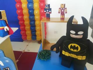 Decoração Lego