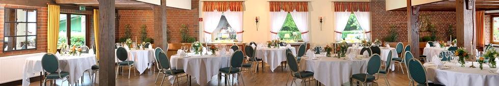 Festsaal für Hochzeiten, Feiern, Geburtstage nahe Wedel und Pinneberg