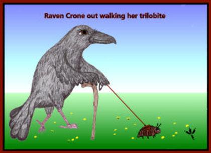 RAVEN-CRONE-WALKING-HER-TRILOBITE-300x21