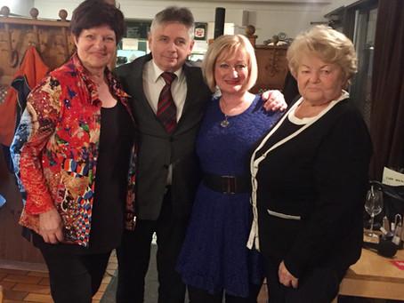 Cissy Kraner mit Regine, Roman, Mama