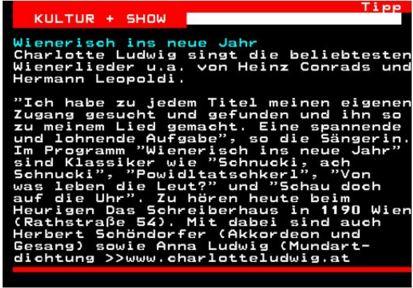 ORF Teletext vom 30-12-2015