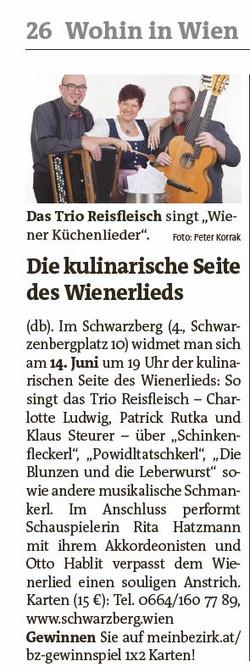 2017-06-01 BZ Wiener Bezirkszeitung.