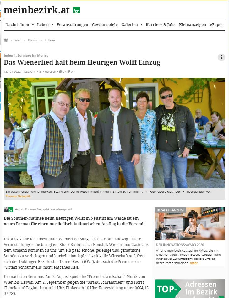 2020-07-11 BZ Wiener Bezirkszeitung
