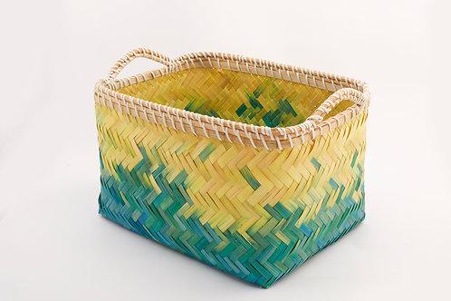 Bamboo Rectangle Basket Medium