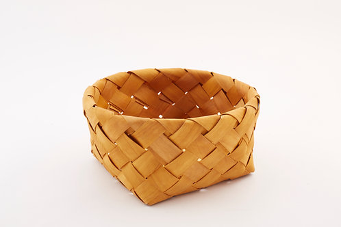 Rattan Storage Basket Round Large