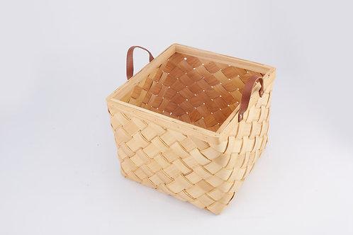 Rattan Storage Basket Cubical Large