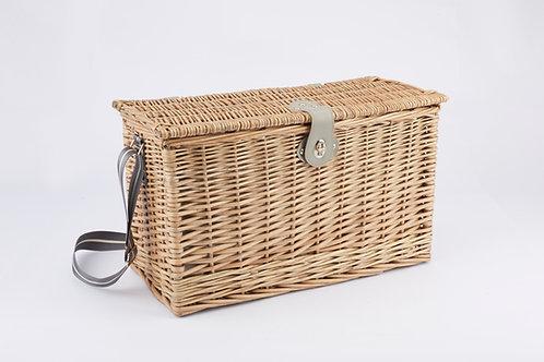 Full Willow Picnic Basket For 4