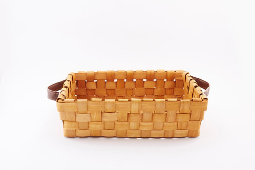 Rattan Storage Basket Large with Side Handles