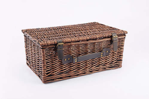 Willow Basket Large Chocolate
