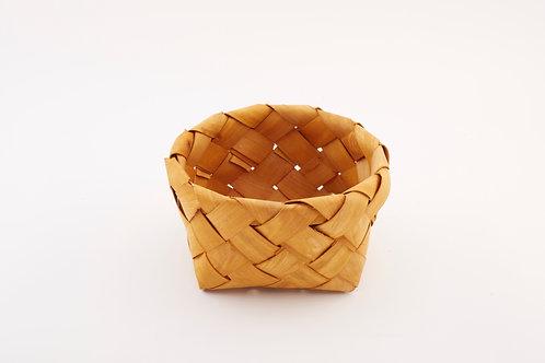 Rattan Storage Basket Round Small
