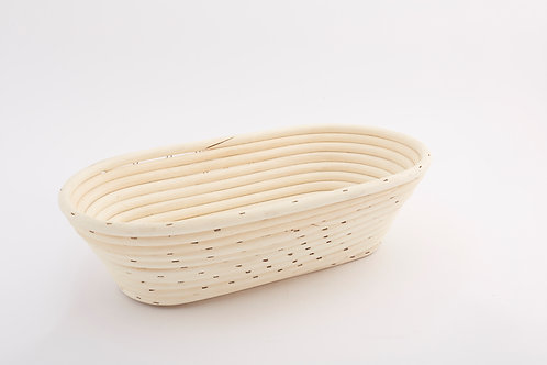 Rattan Bread Tray Wide Large