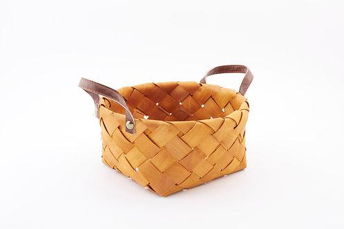Rattan Storage Basket Round Large With Side Handles