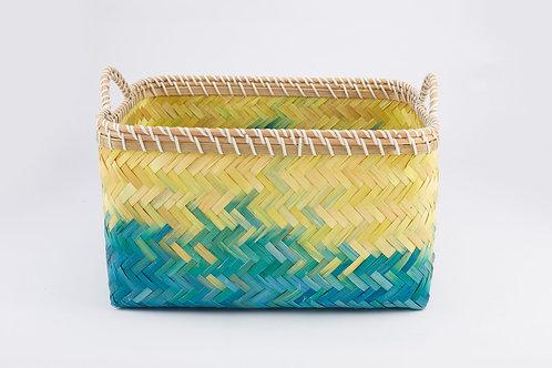 Bamboo Rectangle Basket Large