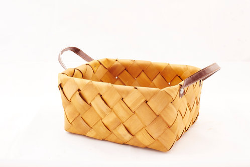 Rattan Storage Basket Tall Large