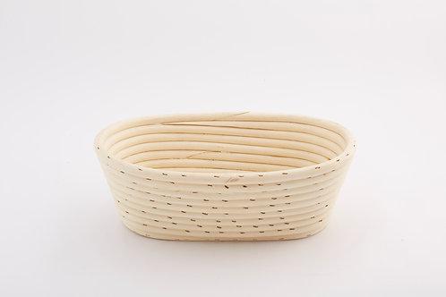 Rattan Bread Tray Wide Small