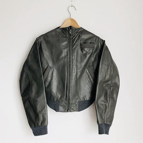 Maison Martin Margiela Leather Artisanal Jacket