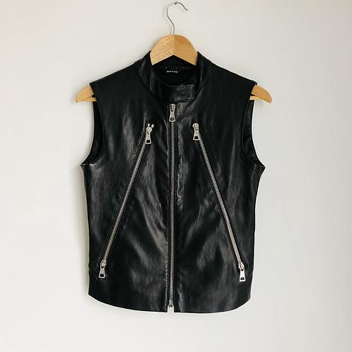 Maison Martin Margiela Leather Biker Jacket