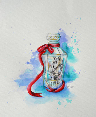Kira Crees - Wolf in Bottle.jpg