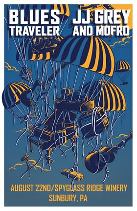 JJ Grey_Blues Traveler_Tour Poster_Edita