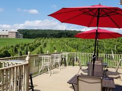 Spyglass Ridge Winery Deck