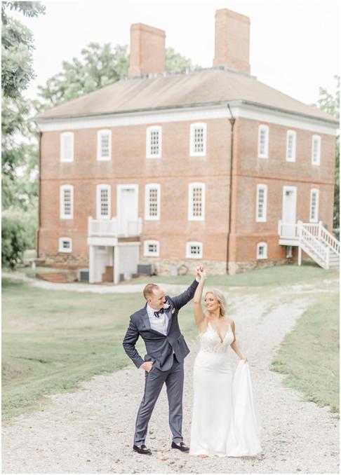 Lauren & Kirk | Historic London Town & Gardens | Annapolis, MD Wedding Photographer