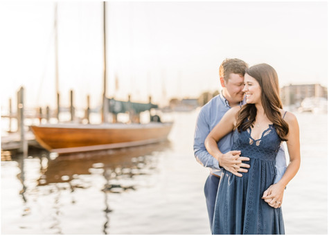 Moe & Dan | Engaged | Downtown Annapolis Wedding Photographer