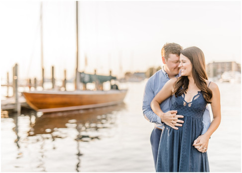 Moe & Dan | Engaged | Downtown Annapolis Wedding Photographer