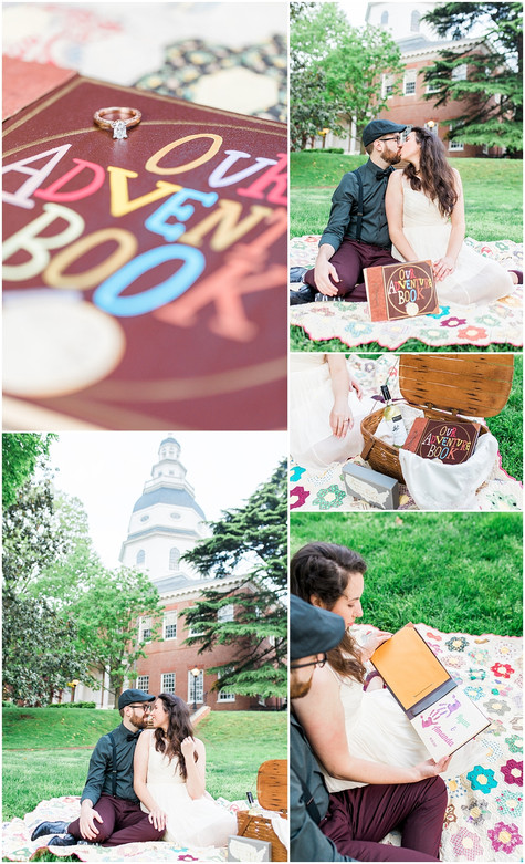 Amanda & Ryan - ENGAGED - Downtown Annapolis