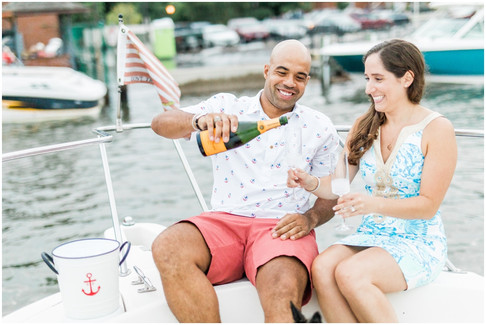 Becky & Steve | Engaged | Downtown, Annapolis