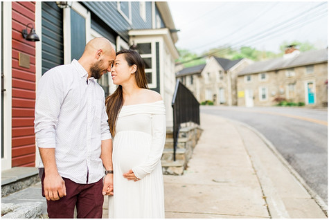 Jane & Kevin Maternity Session - Ellicott City