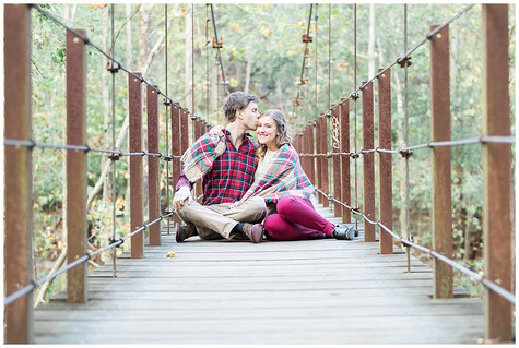 Alex & Thomas - Engaged - Patapsco State Park