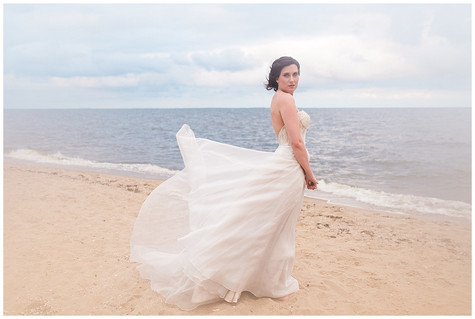 Windswept Styled Shoot - Calvert County, Maryland