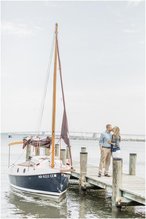 Lindsey & Brandon   Engaged   Annapolis Wedding Photographer