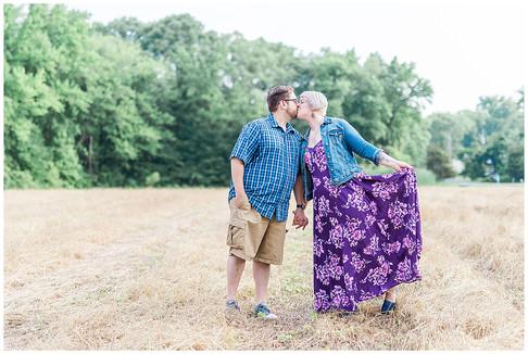 Rachel & Tim   Engaged   Historic Stevensville